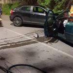 Incidenti stradali: scontro tra 2 autovetture a Catanzaro, due feriti