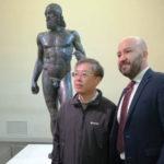 Calabria-Cina: ministro Li Bin dai Bronzi di Riace alla Sila