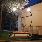 """Violenza donne: inaugurata a Scigliano la """"Panchina Rossa"""""""