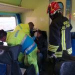 Maltempo: 3 feriti lievi su treno investito da tromba d'aria