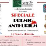 Lamezia domenica 16 la consegna del Premio Anthurium
