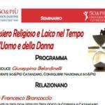 """Catanzaro seminario dei """"50&Più"""" su pensiero religioso"""