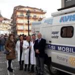 Lamezia: vaccinazioni antinfluenzali con Camper Salute Rotary