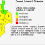 Maltempo: Protezione civile, domani allerta gialla in Calabria