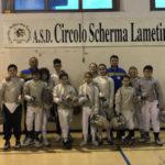 Scherma: 12 giovani sciabolatori lametini in gara a Lucca