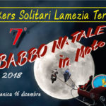 "Lamezia: manifestazione ""Babbo Natale in Moto"" 2018"
