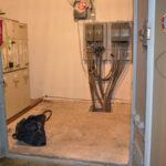 Borsa con munizioni trovata in una cabina elettrica a Reggio