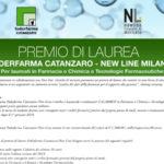 Borsa di studio Federfarma Catanzaro- New line Milano