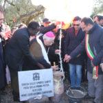 Serrastretta: Posa prima pietra complesso parrocchiale