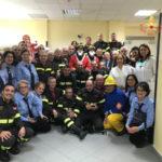 Natale: Vigili del fuoco, iniziativa in Oncologia pediatrica