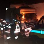 Autoarticolato contro guard-rail sull'A2, grave camionista di Potenza