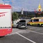 Lamezia: scontro fra due auto in via delle Teme, ferita una donna