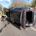 Incidenti stradali: scontro sulla 106 nel Catanzarese, due feriti