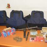 Armi: scoperto e sequestrato dalla Polizia un arsenale da guerra