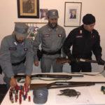 Parco Sila: sequestro armi e tre cacciatori denunciati