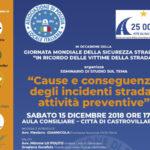 Sicurezza stradale: domani seminario di studio a Castrovillari