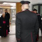 Visita vescovo Lamezia compagnia carabinieri Soveria Mannelli