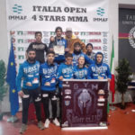 Arti marziali: Fight club Lamezia Terme all'Italia open Figmma