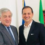 "Ue: Siclari (FI), ""Straordinario lavoro Tajani, auguri a Sassoli"""