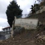 Martirano Lombardo: chiusa Sp 93 per cedimento muro sostegno