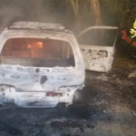 Auto in fiamme a S.Andrea Apostolo, accertamenti in corso