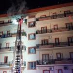 Incendio abitazione in via Biagio Miraglia a Catanzaro