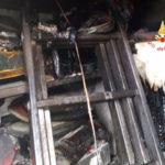 Lamezia: box in fiamme questo pomeriggio in Via Talete