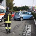 Crotone: incidente stradale via Gandhi Tra i feriti lievi un bimbo