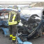 Auto Polstrada tamponata su A2 nel Cosentino, un ferito grave