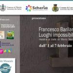 "Tiriolo: Mostra ""Francesco Barilaro"", ""Luoghi impossibili"""