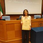 Angela Nicolazzo tra i lametini premiati alla Camera dei Deputati