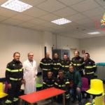 Catanzaro: dono Vigili Fuoco reparto oncologia pediatrica Ciaccio