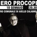 """Teatro: """"Piero Procopio. Viva il Cabaret!"""" al Comunale di Aiello Calabro"""