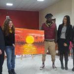 Migranti: artista senegalese e pittrice cutrese realizzano quadro