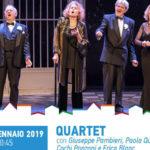 "Teatro: ""Quartet"" a Catanzaro per la rassegna teatrale Vacantiandu"