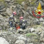 Cane bloccato in una cava a Spilinga, salvato dai Vigili del fuoco