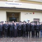 Carabinieri: visita pastorale Mons. Milito gruppo Gioia Tauro