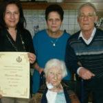 Morano Calabro: Nonna Francesca Ferraro compie 100 anni