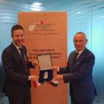 Expo 2020: Daniele Rossi in visita alla II Cuae di Dubai