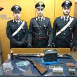 Ricettazione e detenzione arma, coniugi denunciati nel Vibonese