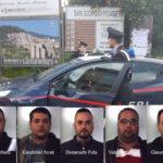 Estorsioni: sentenza definitiva, 5 arresti nel Reggino