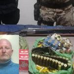 Fucile e munizioni in un casolare, un arresto nel Reggino