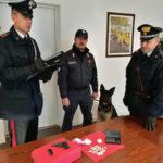 Pusher arrestato dai carabinieri per detenzione droga e pistola