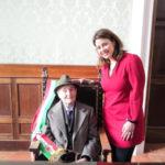 Catanzaro: festeggiati in comune i cento anni di Francesco Canino
