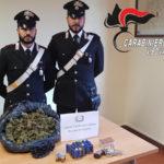 Armi, droga e munizioni trovate nel Vibonese dai Carabinieri