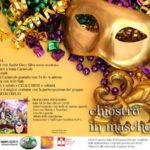 """Lamezia: """"grande festa in maschera al chiostro caffe' letterario"""