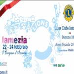 Lamezia: 8° Congresso Distrettuale d'Inverno del Lions Club