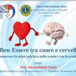 """Lamezia: domani l'incontro """"Il Ben-Essere tra Cuore e Cervello"""""""