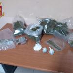 Droga: giovane con 1,5 kg di marijuana, arrestato nel Reggino