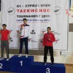 Taekwondo: Vigili Fuoco Gesualdo conquistano oro al Cyprus Open